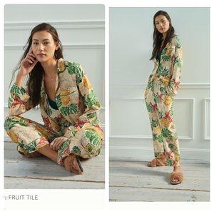 Anthropologie farm rio colada pajama set